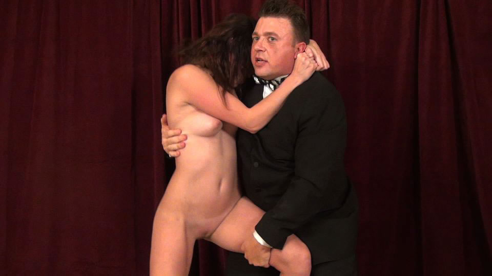 sexy nacked girl with man